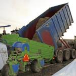 Nosiče kontejnerů za traktor
