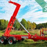traktorový nosič kontejnerů Bigab 10-14 G2