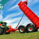 traktorový nosič kontejnerů Bigab 12-15 druhé generace
