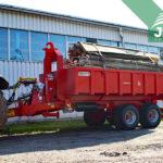 traktorový nosič kontejnerů Bigab 8-12